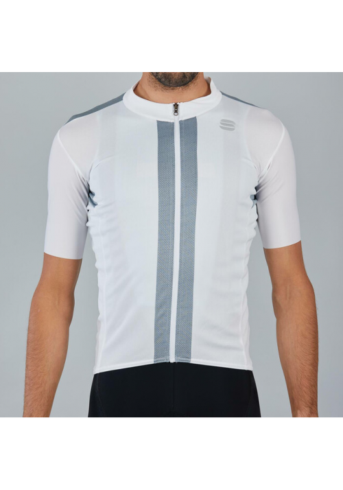 MAGLIA STRIKE SHORT SLEEVE JERSEY WHITE BLACK